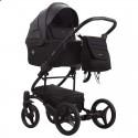 Детская коляска 2 в 1 Bebetto Torino 08 черная, черная рама