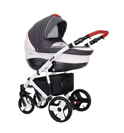 Детская коляска 2 в 1 Coletto Florino Carbon 02