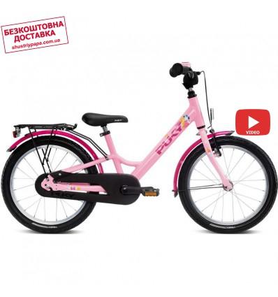 Велосипед двухколесный Puky Youke 18 Alu розовый