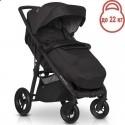 Детская прогулочная коляска EasyGo Quantum Air 2021 Basalt