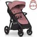 Детская прогулочная коляска EasyGo Quantum Air 2021 Rose