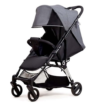 Детская прогулочная коляска Ninos Mini 2 Dark Grey
