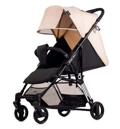 Детская прогулочная коляска Ninos Mini 2 Light Beige