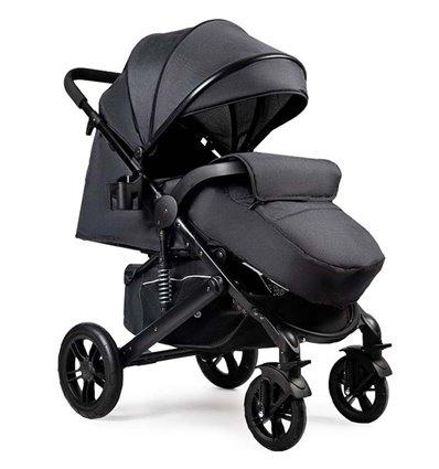 Детская прогулочная коляска Ninos Uno черная / черная рама