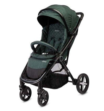 Детская прогулочная коляска Caretero Colosus dark green