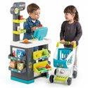Дитячий супермаркет з возиком Smoby City Market 350212