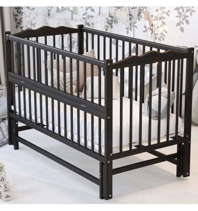 Детская кроватка Дубик-М Веселка с маятником венге