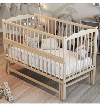 Детская кроватка Дубик-М Веселка с маятником цвет натуральный