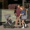 Детская прогулочная коляска Espiro Only 17 Graphite Street, серая рама