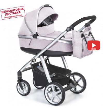 Детская коляска 2 в 1 Espiro Next 2.1 Melange 08 Pink Walk