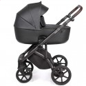 Детская коляска 2 в 1 Roan Bass Next Eco Black Pearl