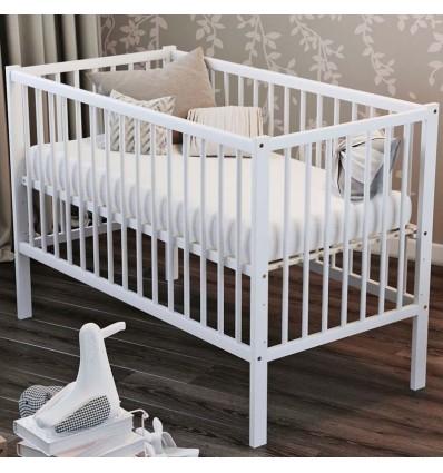 Детская кроватка Дубик-М Малютка белая