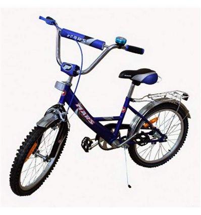 Велосипед двухколесный Mars 16 синий/черный