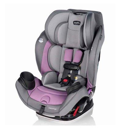 Автокресло детское Evenflo EveryStage DLX Miranda Lavender 0-55 кг