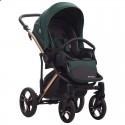 Детская коляска 2 в 1 Bebetto Bresso Premium Stella 03 зеленая