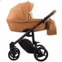 Детская коляска 2 в 1 Bebetto Luca Pro 13 рыжая