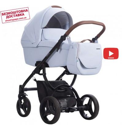 Детская коляска 2 в 1 Bebetto Luca Pro 16 голубая