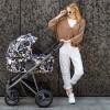 Детская коляска 2 в 1 Bebetto Flavio Pro 04 серая эко-кожа