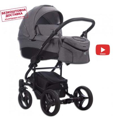 Детская коляска 2 в 1 Bebetto Tito 20 серая