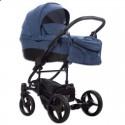 Детская коляска 2 в 1 Bebetto Tito 22 синяя