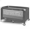 Манеж кровать Caretero Basic Plus graphite