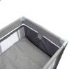 Манеж кровать Caretero Basic Plus grey