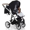 Детская коляска 2 в 1 Junama Space 04 black