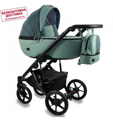 Детская коляска 2 в 1 Bexa Air mint - graphite