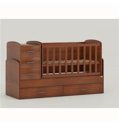 Детская кроватка-трансформер Oris Maya орех