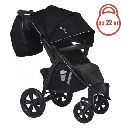 Детская прогулочная коляска BubaGo Cross Air черная