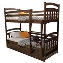 Двухъярусная кровать с подъемным механизмом Дримка Бемби