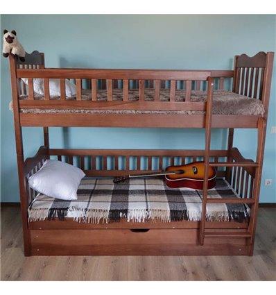 Двухъярусная кровать с подъемным механизмом Дримка Рукавичка