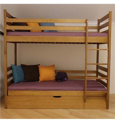 Двухъярусная кровать с подъемным механизмом Дримка Шрек