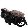 Детская коляска 2 в 1 Adamex Gallo Thermo GA-7 Cappuccino