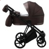 Детская коляска 2 в 1 Adamex Gallo Thermo GA-10 Chocolate Gold