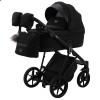 Детская коляска 2 в 1 Adamex Gallo Thermo GA-12 Black Diamond