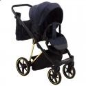 Детская коляска 2 в 1 Adamex Porto Special Edition Gold TK-605