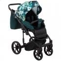 Детская коляска 2 в 1 Adamex Porto Light Flowers-9