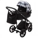 Детская коляска 2 в 1 Adamex Porto Light Flowers-11