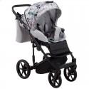 Детская коляска 2 в 1 Adamex Porto Light Flowers-12