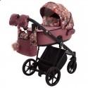Детская коляска 2 в 1 Adamex Porto Flowers-2