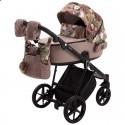 Детская коляска 2 в 1 Adamex Porto Flowers-5