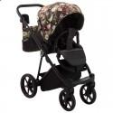 Детская коляска 2 в 1 Adamex Porto Flowers PR-1