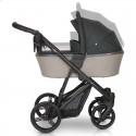 Детская коляска 3 в 1 Verdi Dynamic VD-04 розовая пудра с черным