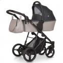 Детская коляска 3 в 1 Verdi Dynamic VD-06 бежевая с серым