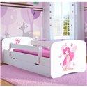 Детская кровать Kocot Kids Baby Dreams - Фея с бабочками белая
