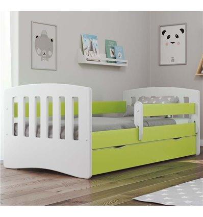 Детская кровать Kocot Kids Classic зеленая