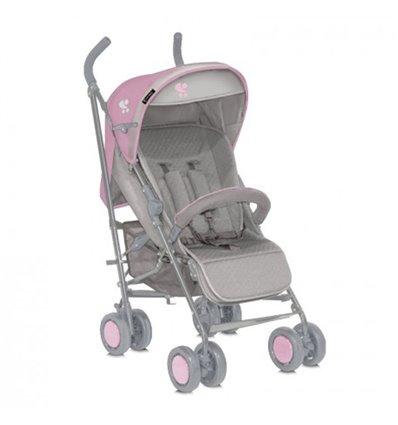 Детская прогулочная коляска Bertoni I-Move Grey Pink