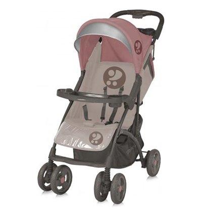 Детская прогулочная коляска Bertoni Smarty Beige Terracotta