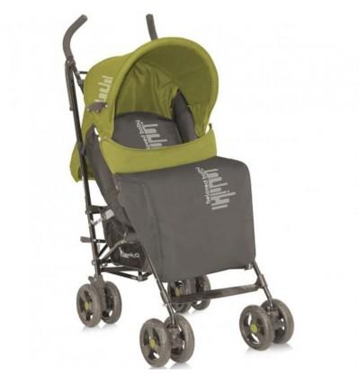 Детская прогулочная коляска Bertoni Fiesta Beige Green Beloved